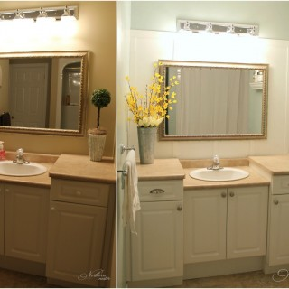 Main Bathroom Before & After