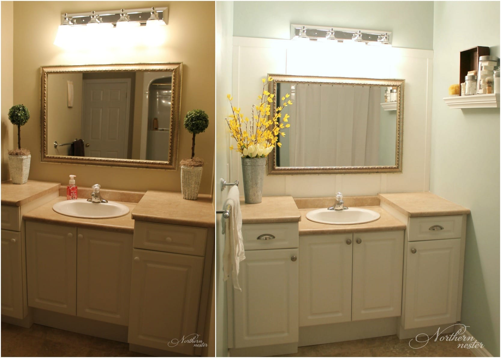 Main Bathroom Before Amp After Northern Nester