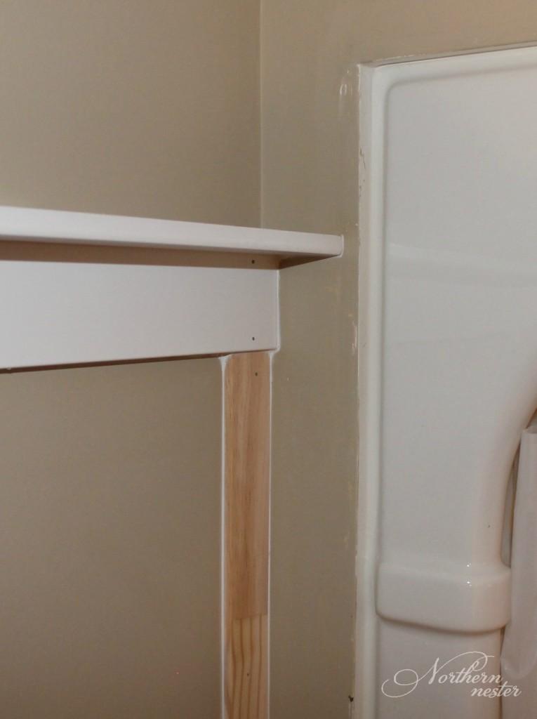 board and batten shelf