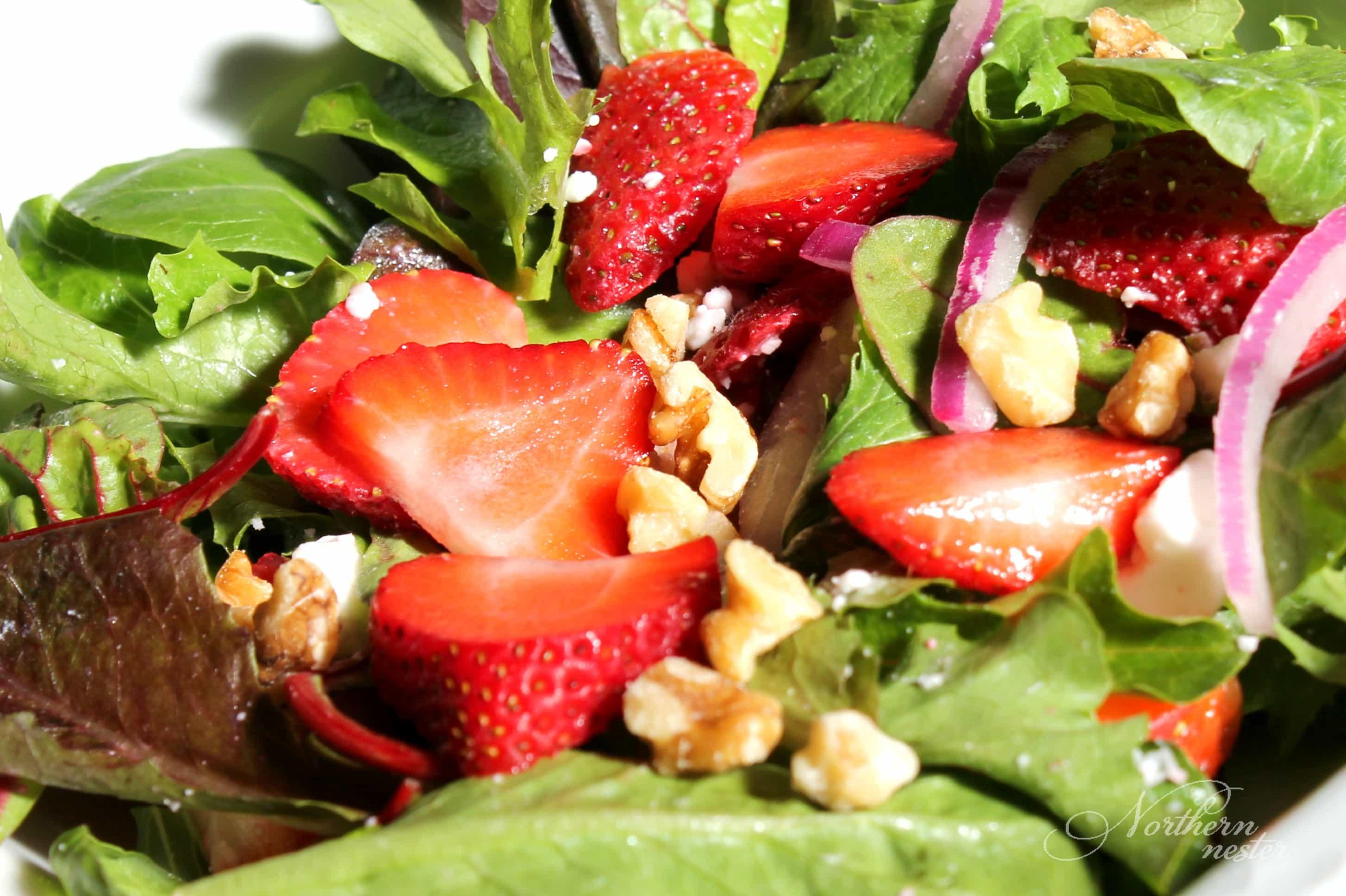 Strawberry Spinach Salad | THM, GF
