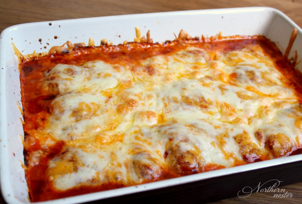 easy chicken Parmesan baked