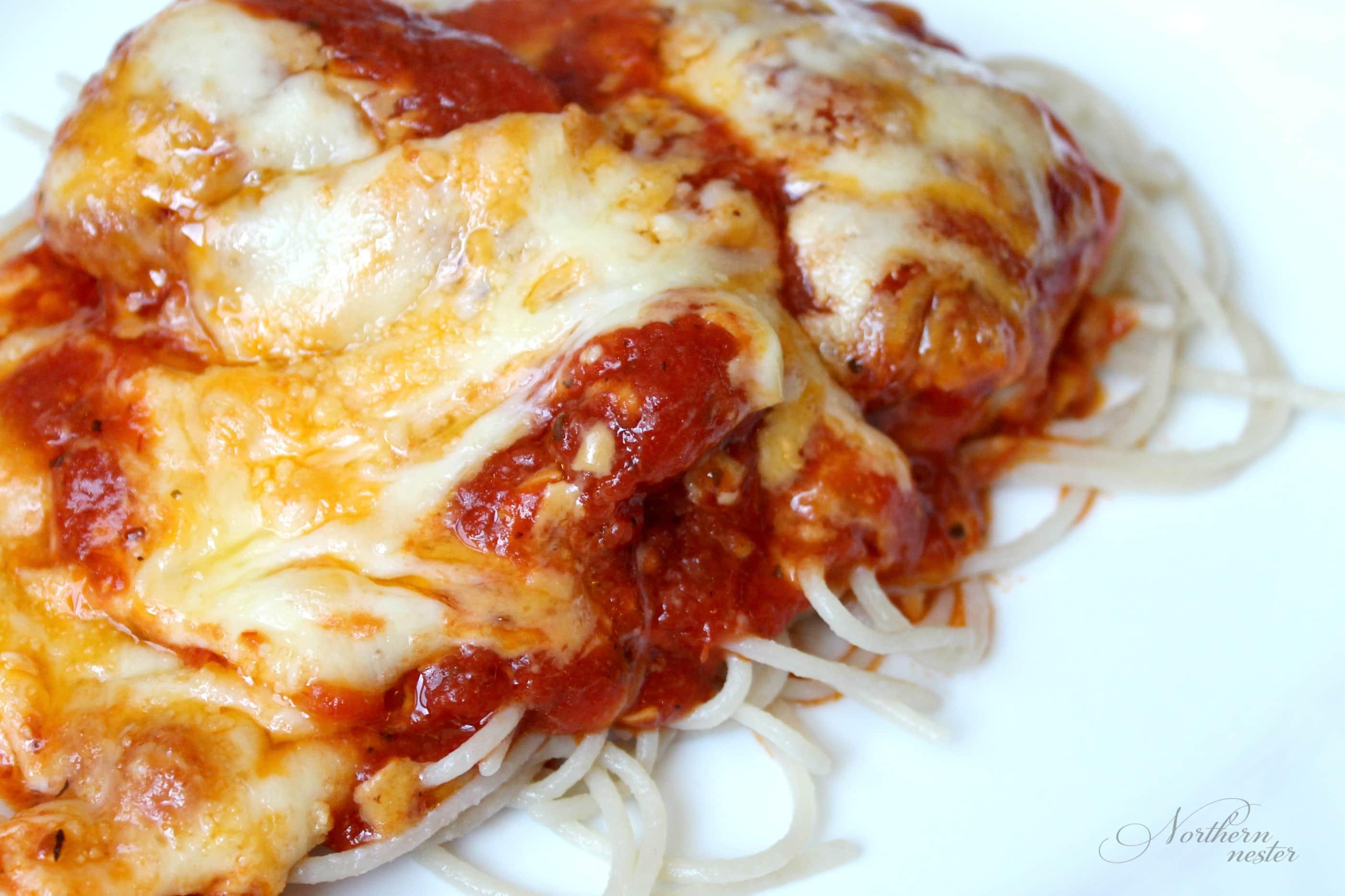 easy chicken parmesan trim healthy mama