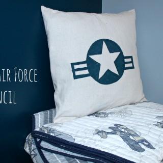 Free Vintage US Air Force Stencil