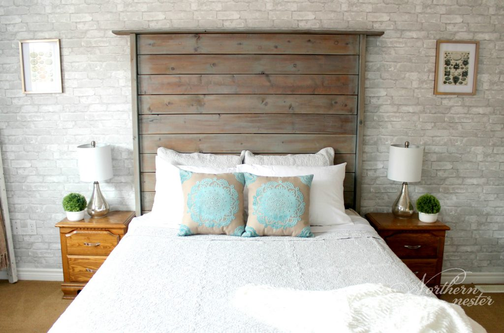 master bedroom redo farmhouse