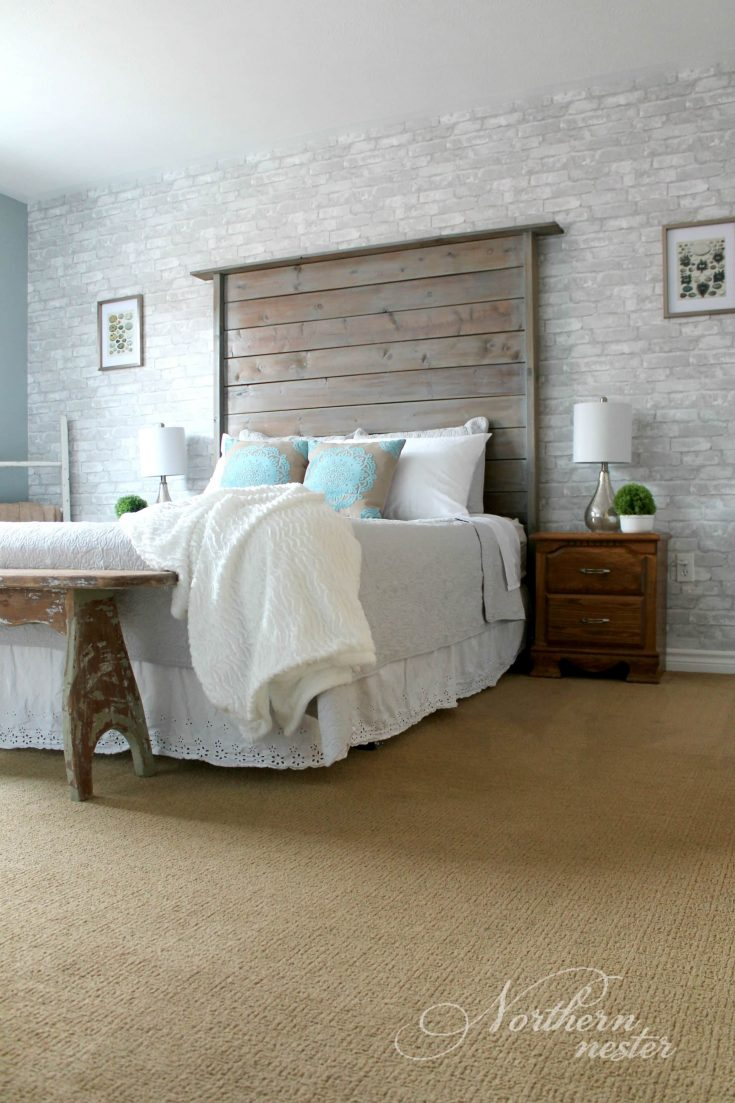 Free Farmhouse Headboard Plan
