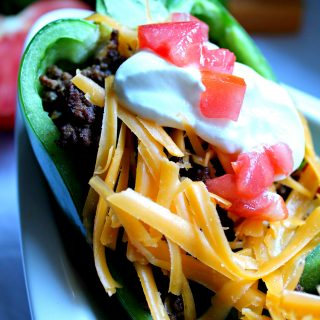 Southwestern Stuffed Peppers | THM S