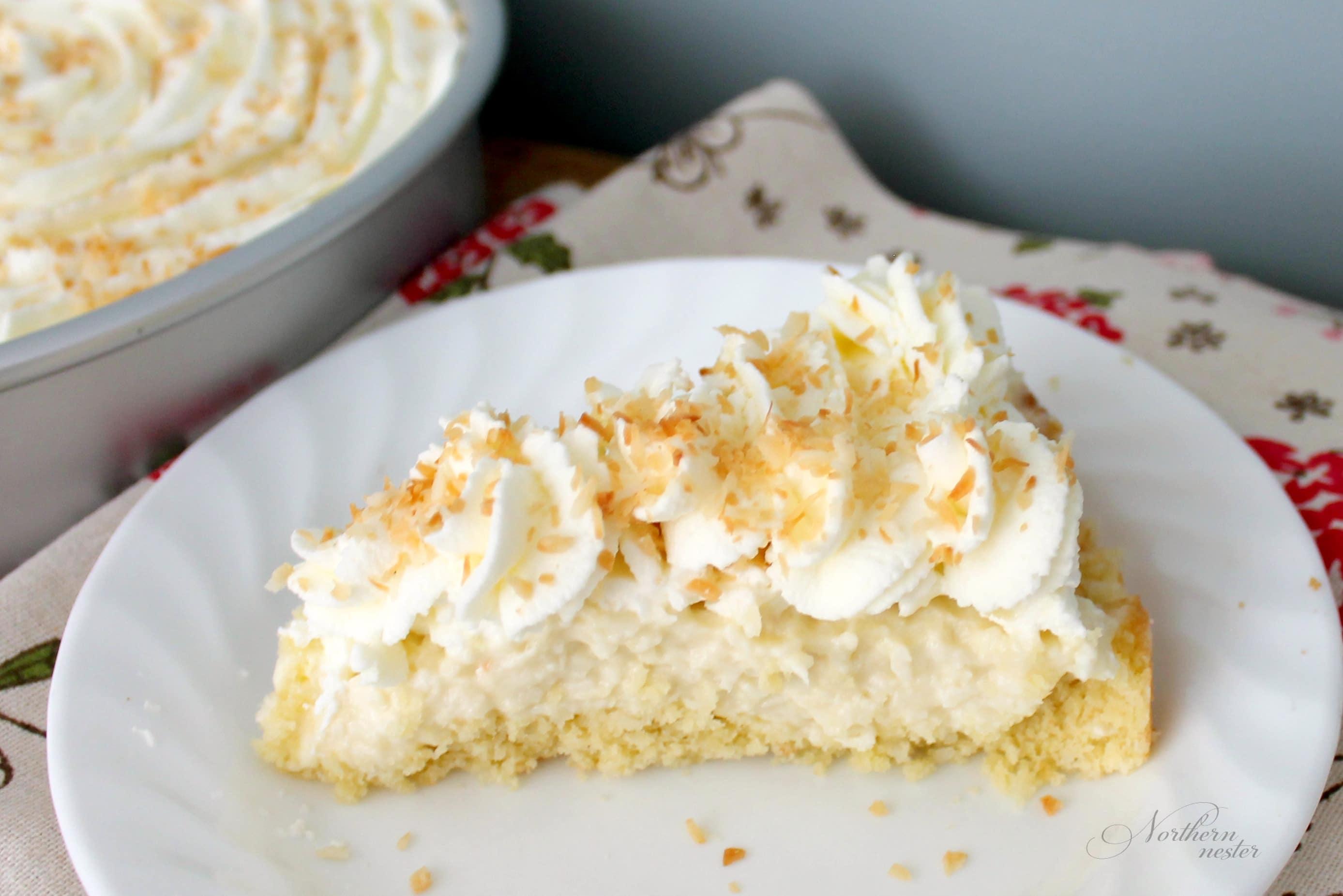 Coconut Cream Pie | THM: S