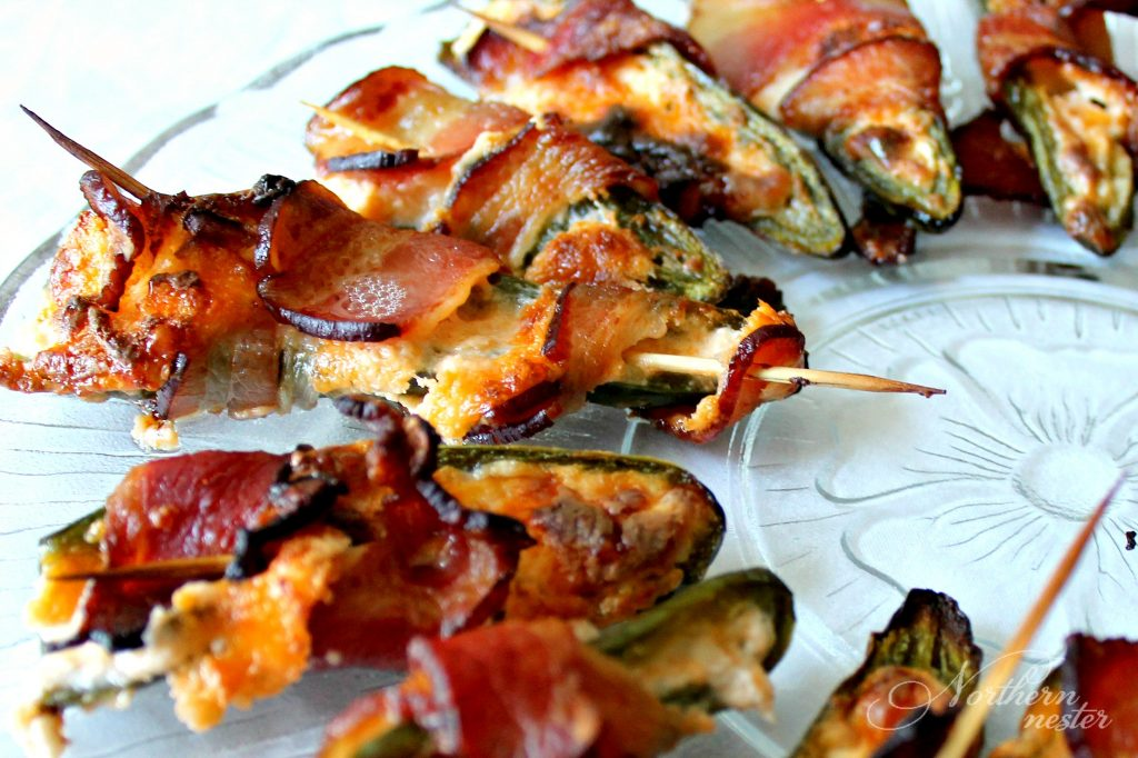cream cheese bacon wrapped jalapeno poppers THM S 1