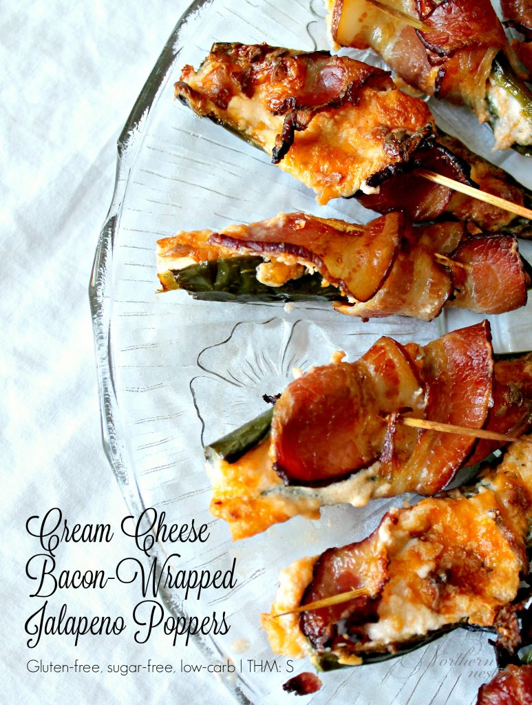 cream cheese bacon wrapped jalapeno poppers thm s