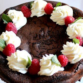 Low Carb Brownie Pie | THM S