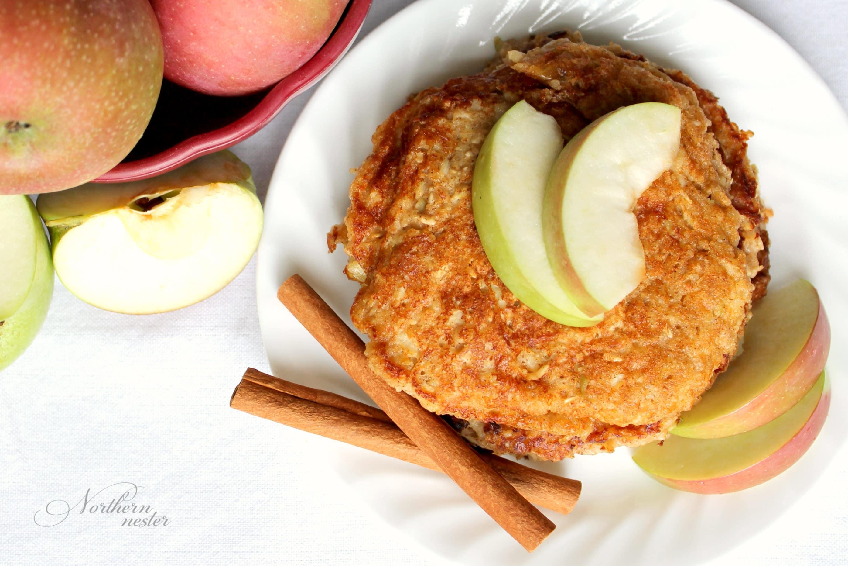 Apple Flapjack Pancakes | THM: E