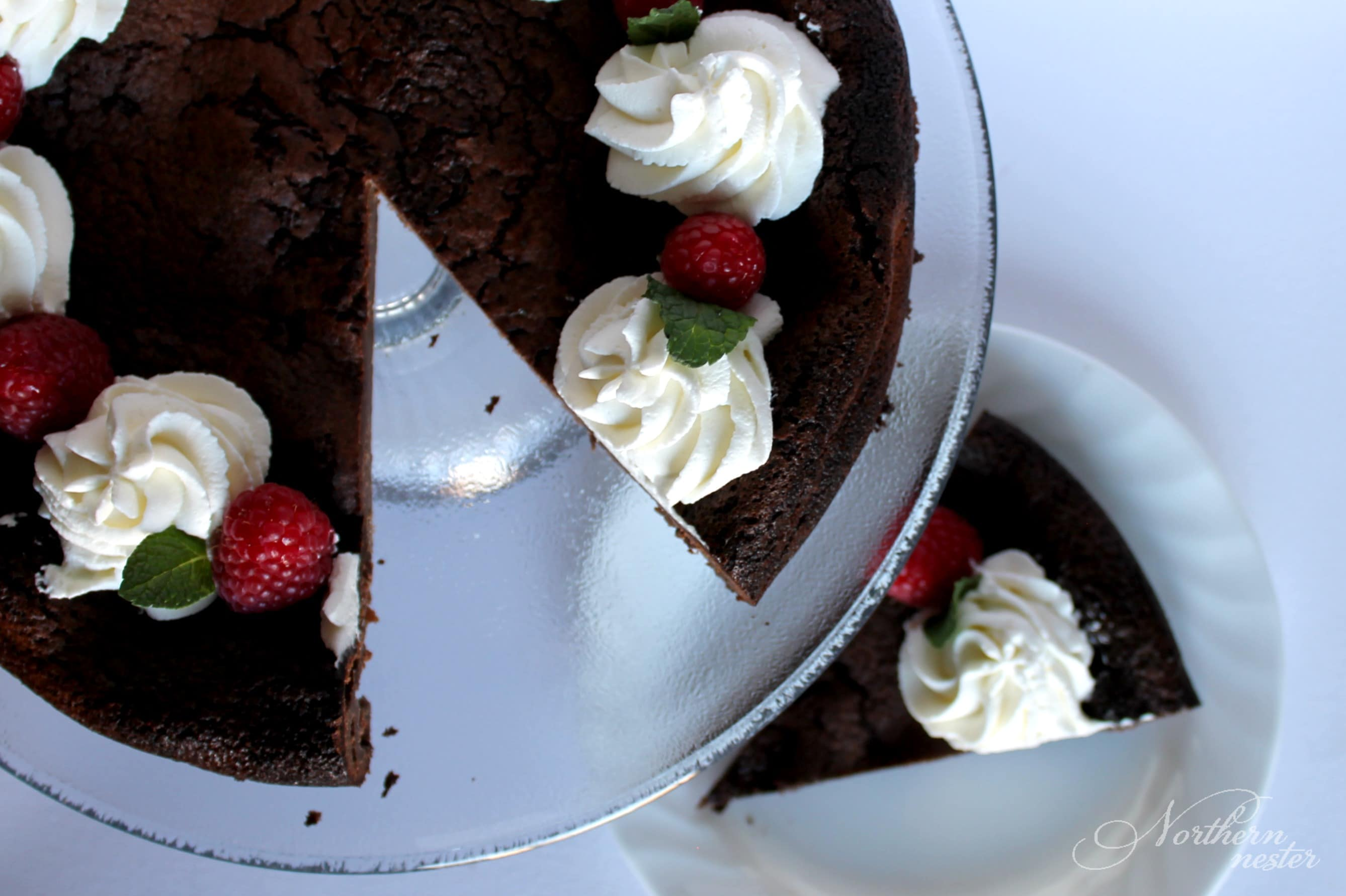 Low Carb Brownie Pie | THM S
