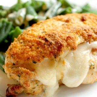 Chicken Cordon Bleu with Dijon Cream Sauce | THM: S