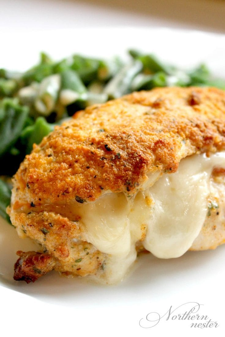 Chicken Cordon Bleu with Dijon Cream Sauce | THM: S