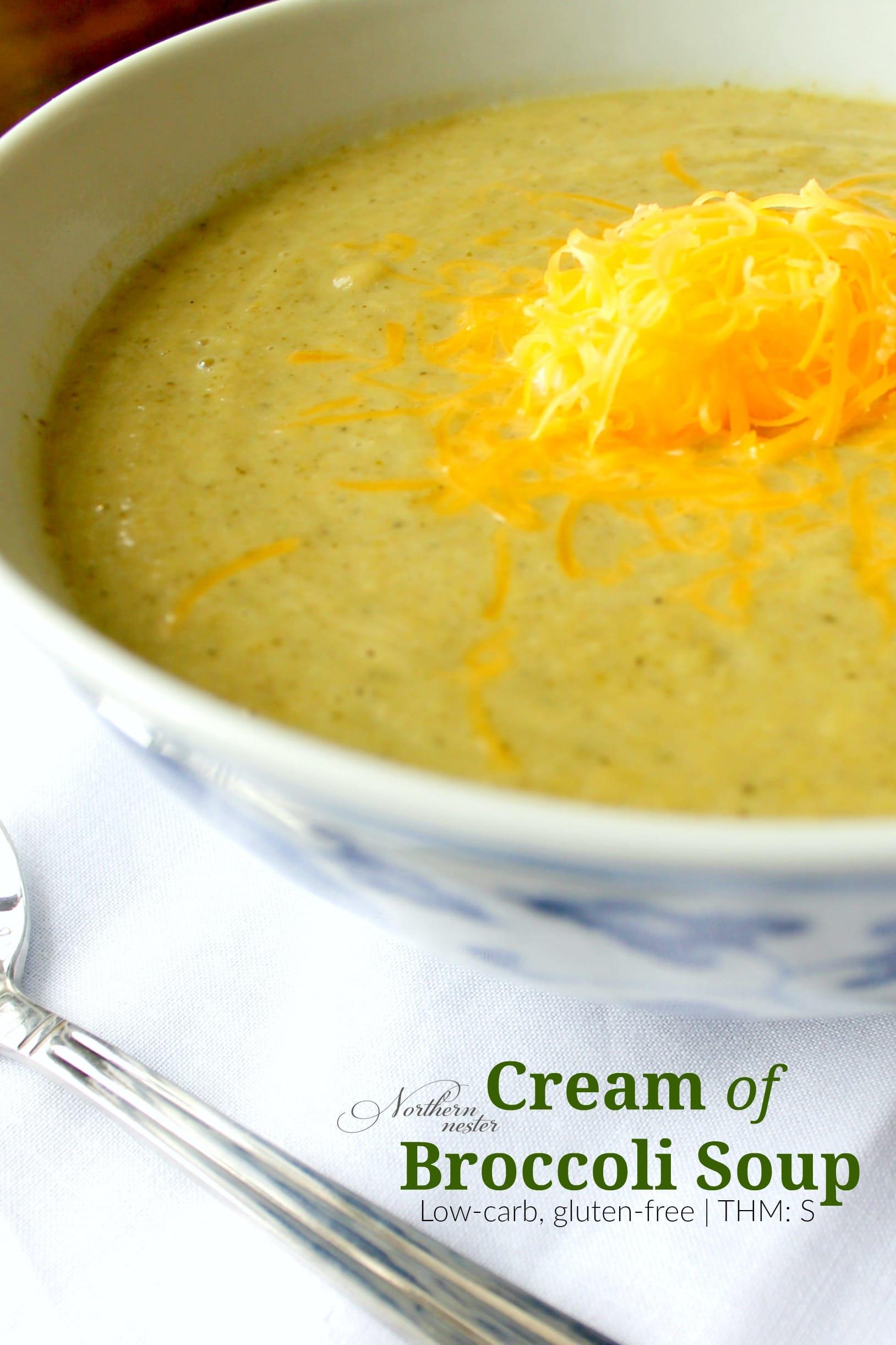 Cream Of Broccoli Soup Thm S
