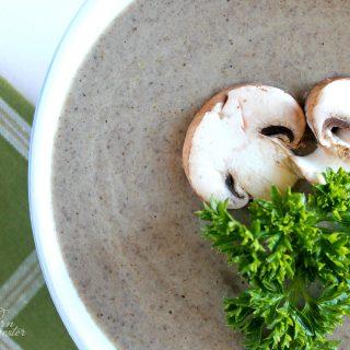 Cream of Mushroom Soup | THM: S