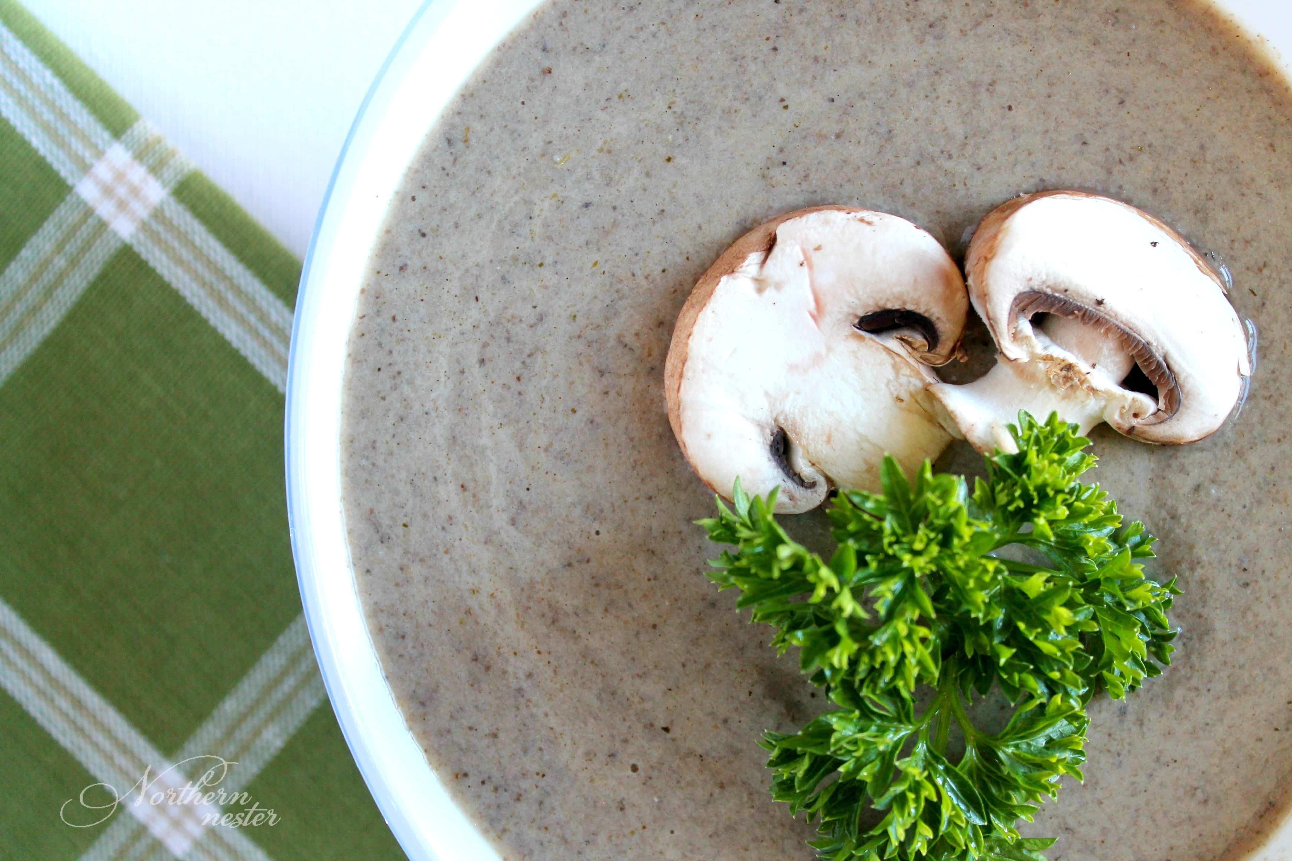 Cream of Mushroom Soup | THM S