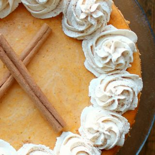 Pumpkin Cheesecake with Pecan Crust | THM: S