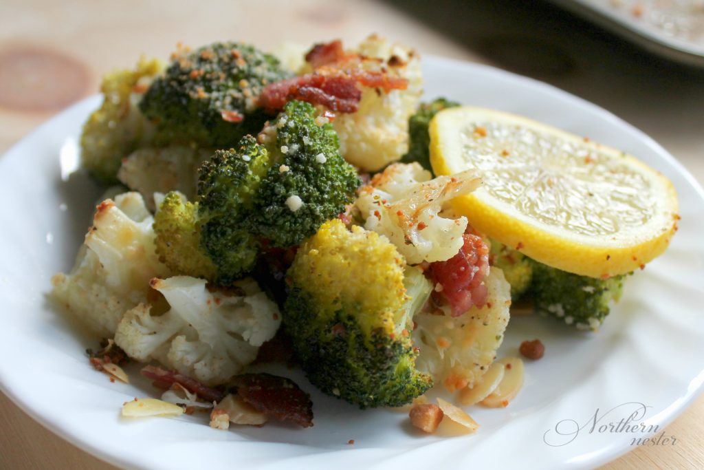 roasted-broccoli-and-caultiflower