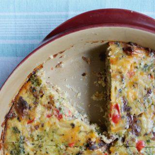 Christmas Morning Egg Bake | THM: S