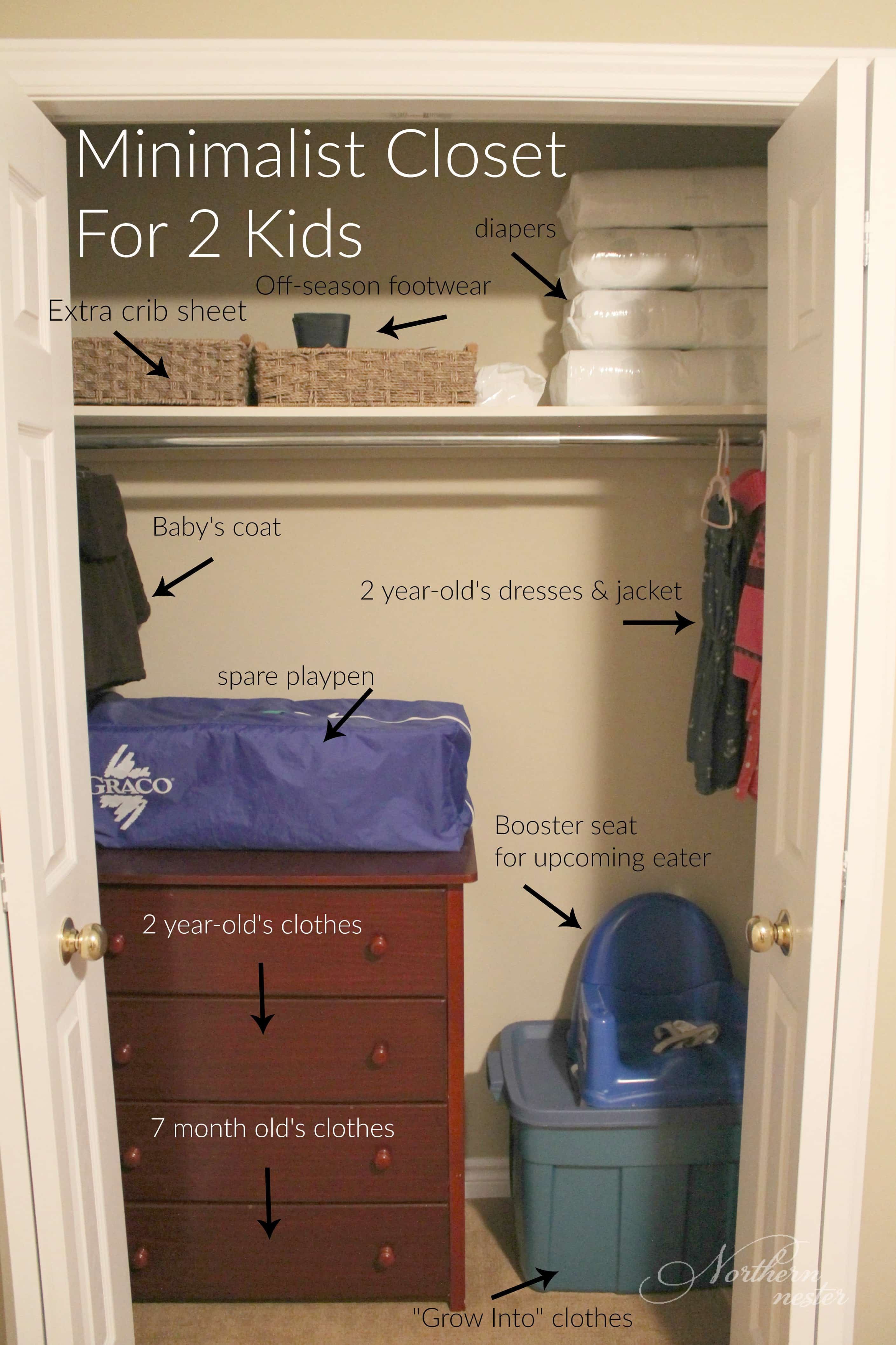 Hats, Mittens, And Scarves Are Also Stored In The Main Entry Closet In A  Basket On The Shelf.