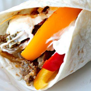 Slow Cooker Steak Wraps | THM: S