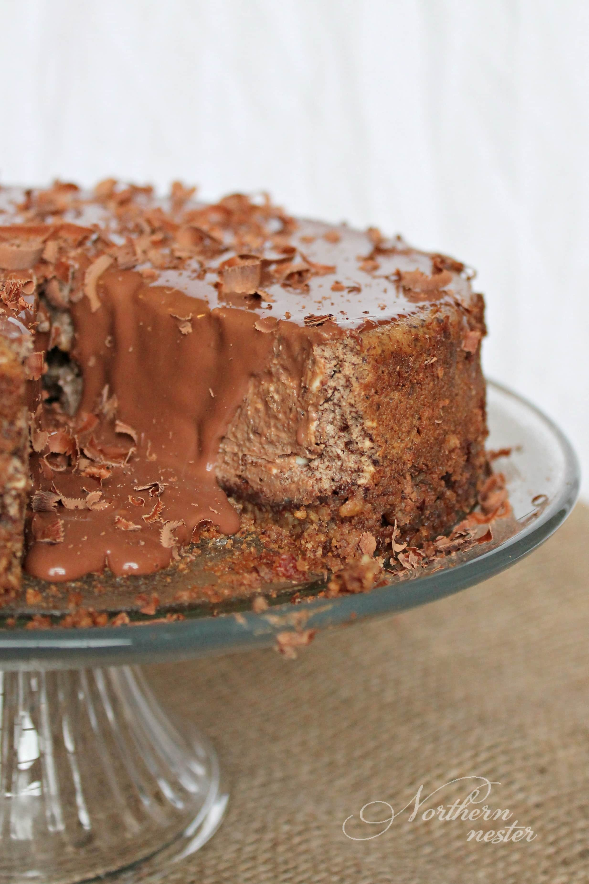 Chocolate Cappuccino Cheesecake | THM: S - Northern Nester
