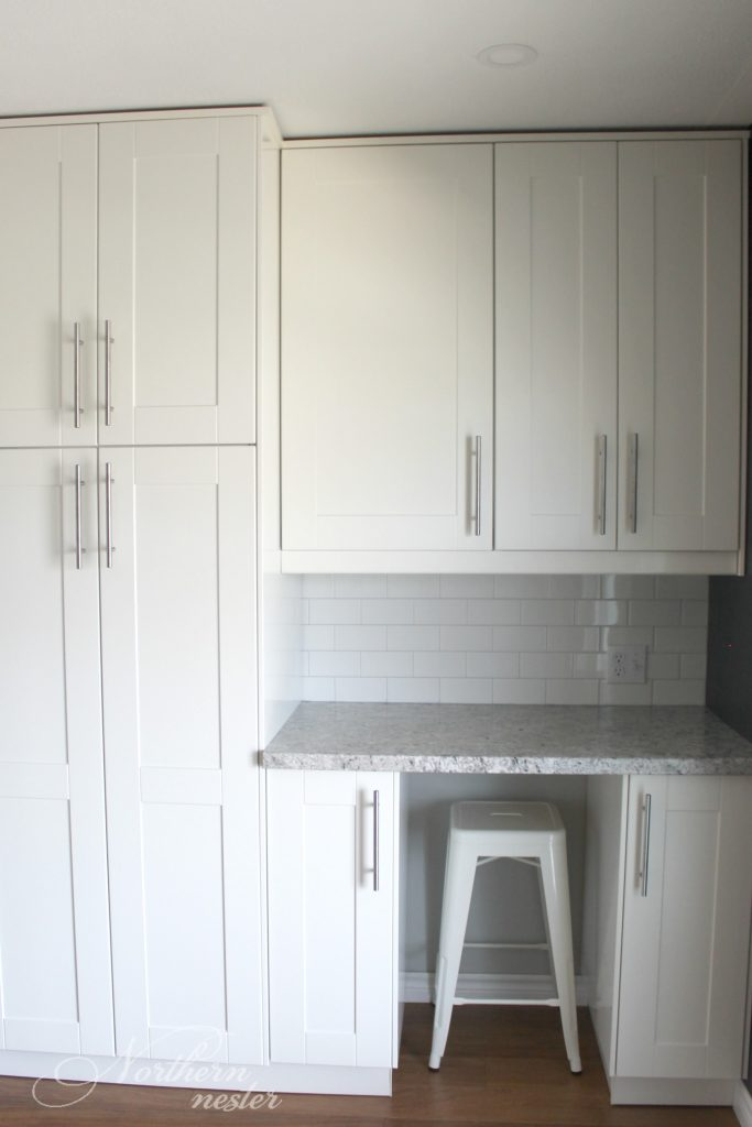 Ikea kitchen reno before after northern nester for Built by nester