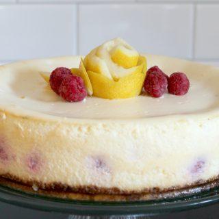 Raspberry Lemon Cheesecake  | THM: S