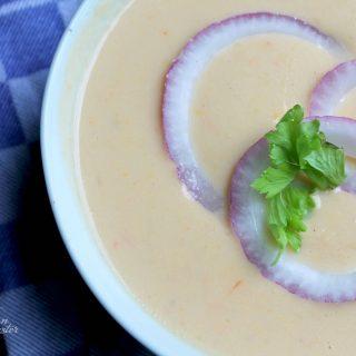 Cheesy Cauliflower Soup | THM: S