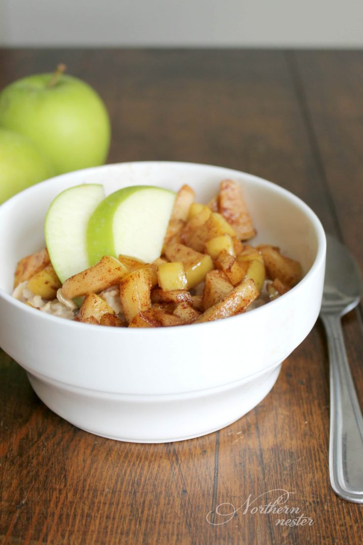 Apple Pie Oatmeal | THM: E