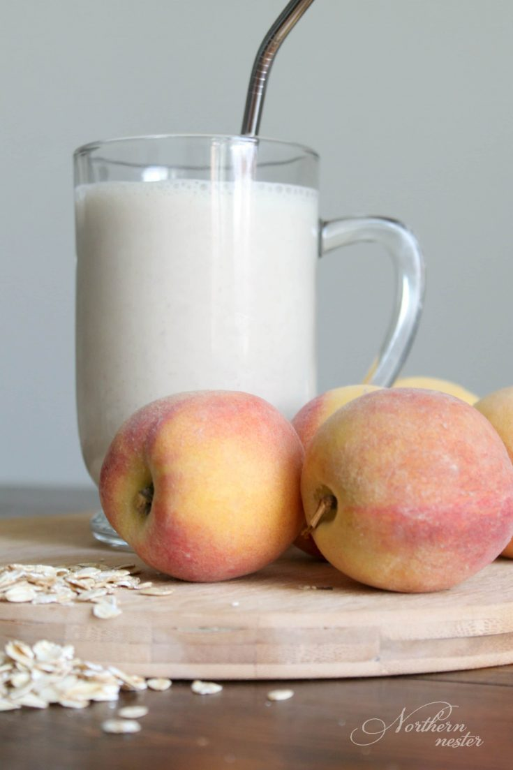 Peach Pie Smoothie | THM: E
