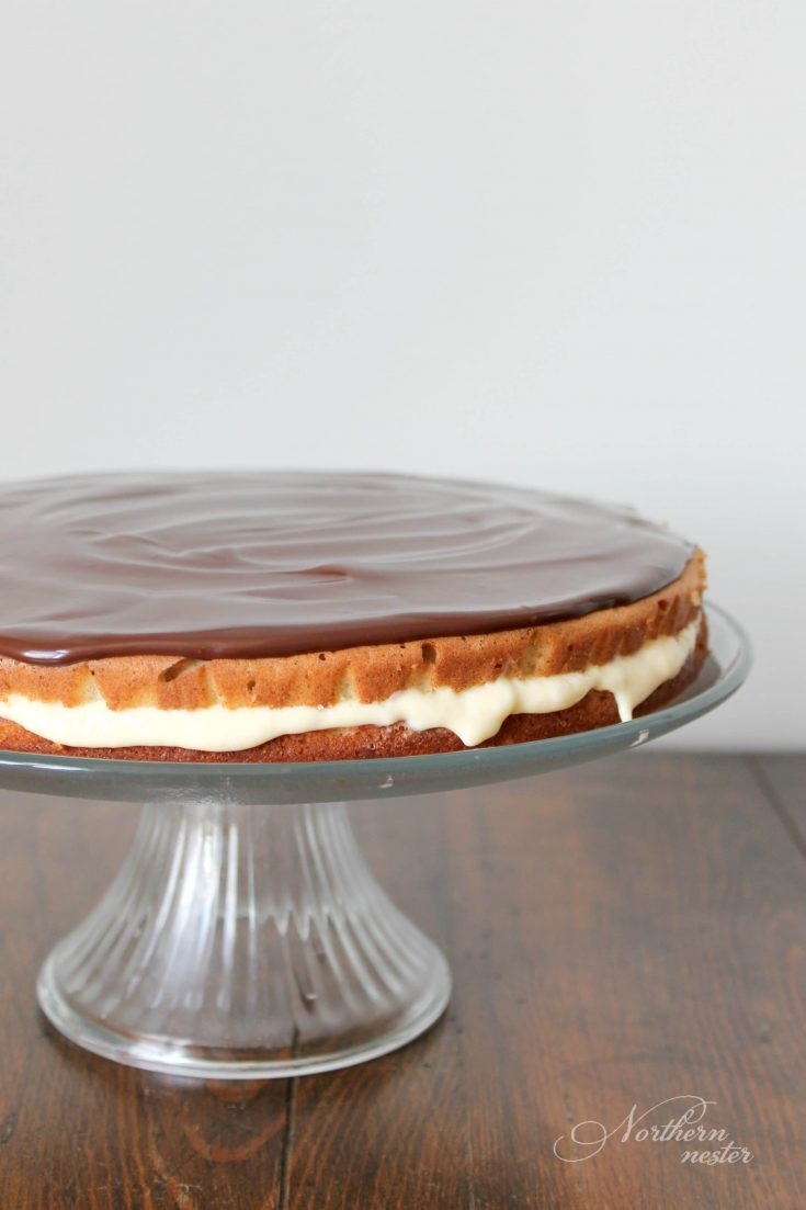 Boston Cream Pie | THM: S