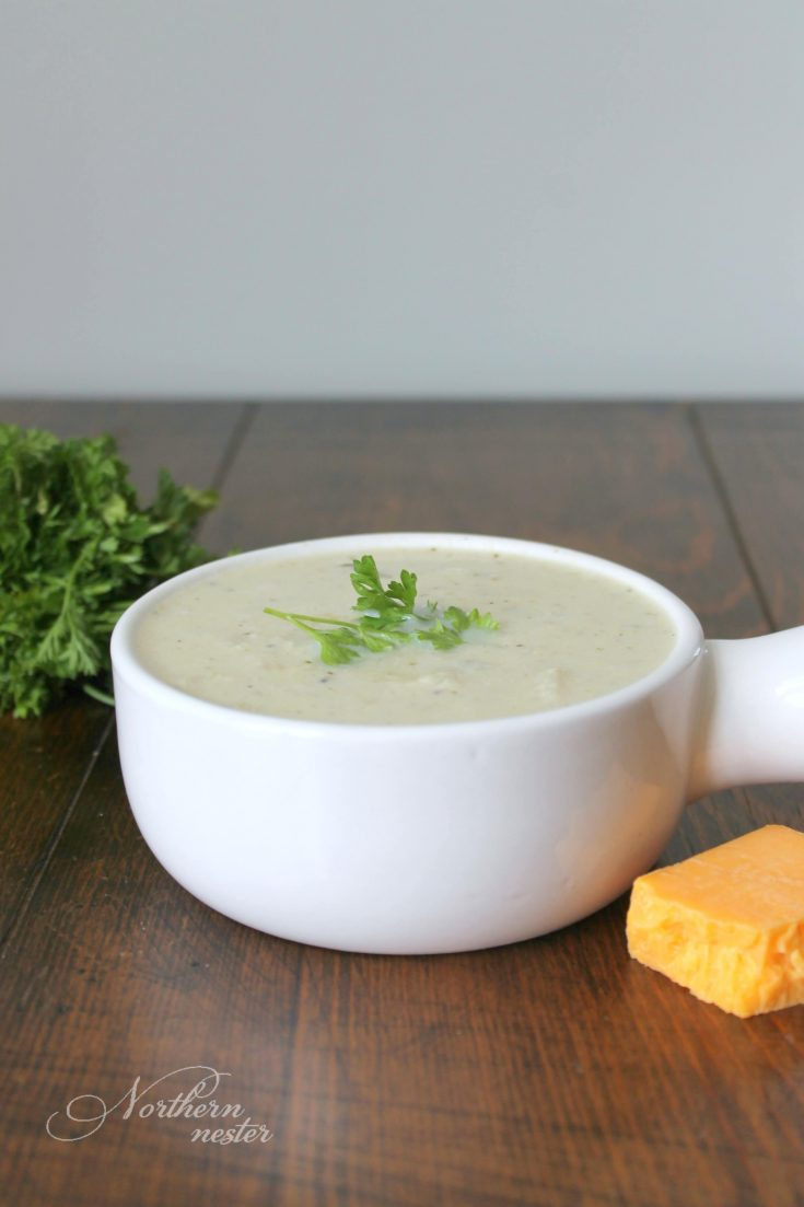 Low-Carb Cream of Chicken Soup   THM: S