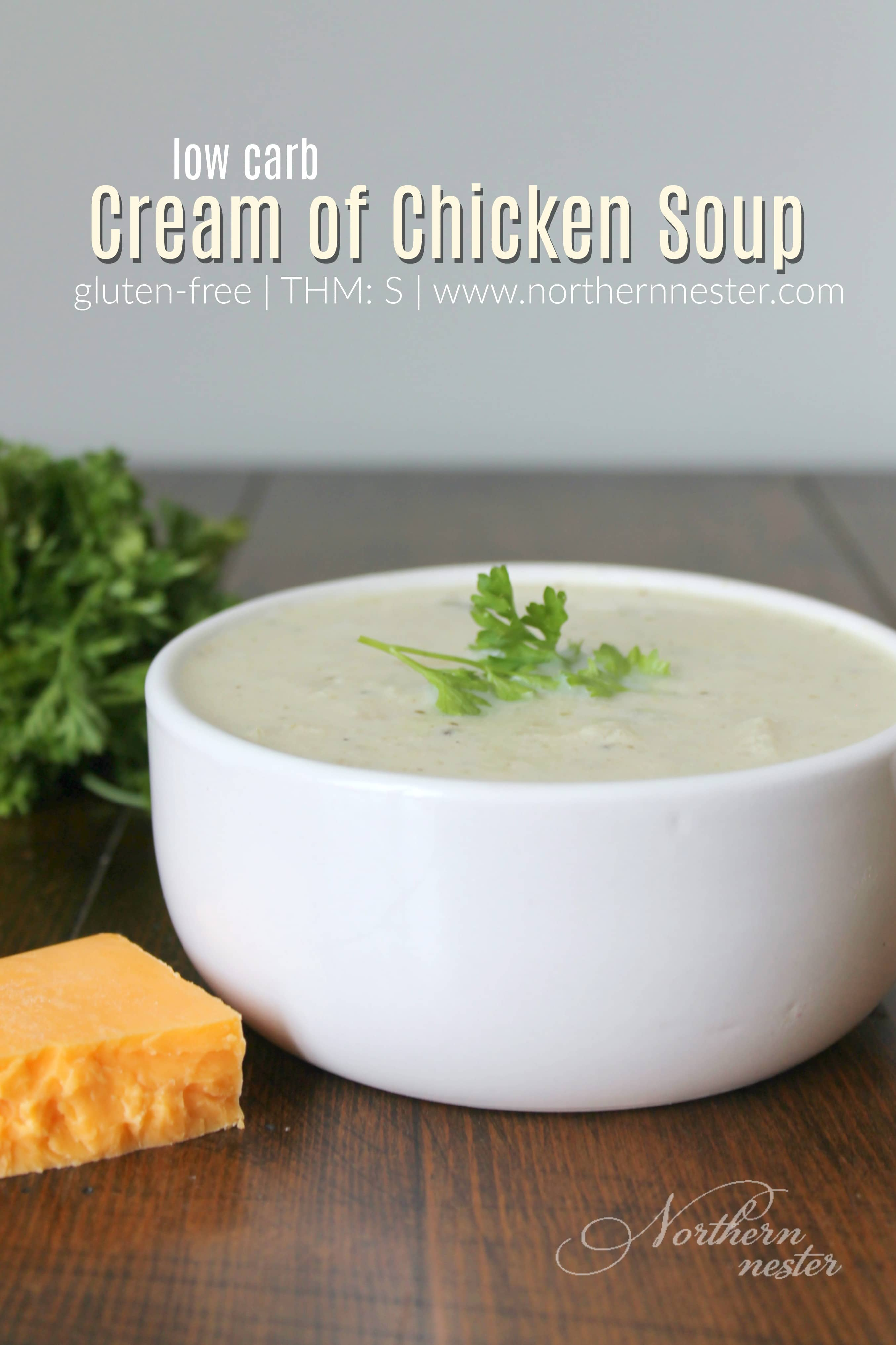 Low Carb Cream Of Chicken Soup Thm S Northern Nester