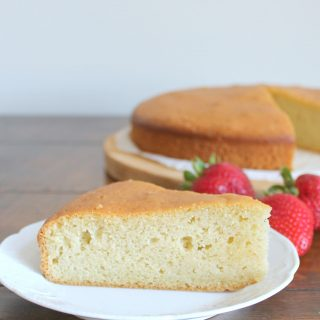 Perfect Pound Cake | THM: S
