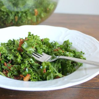 Wilted Kale Salad With Bacon | THM: S