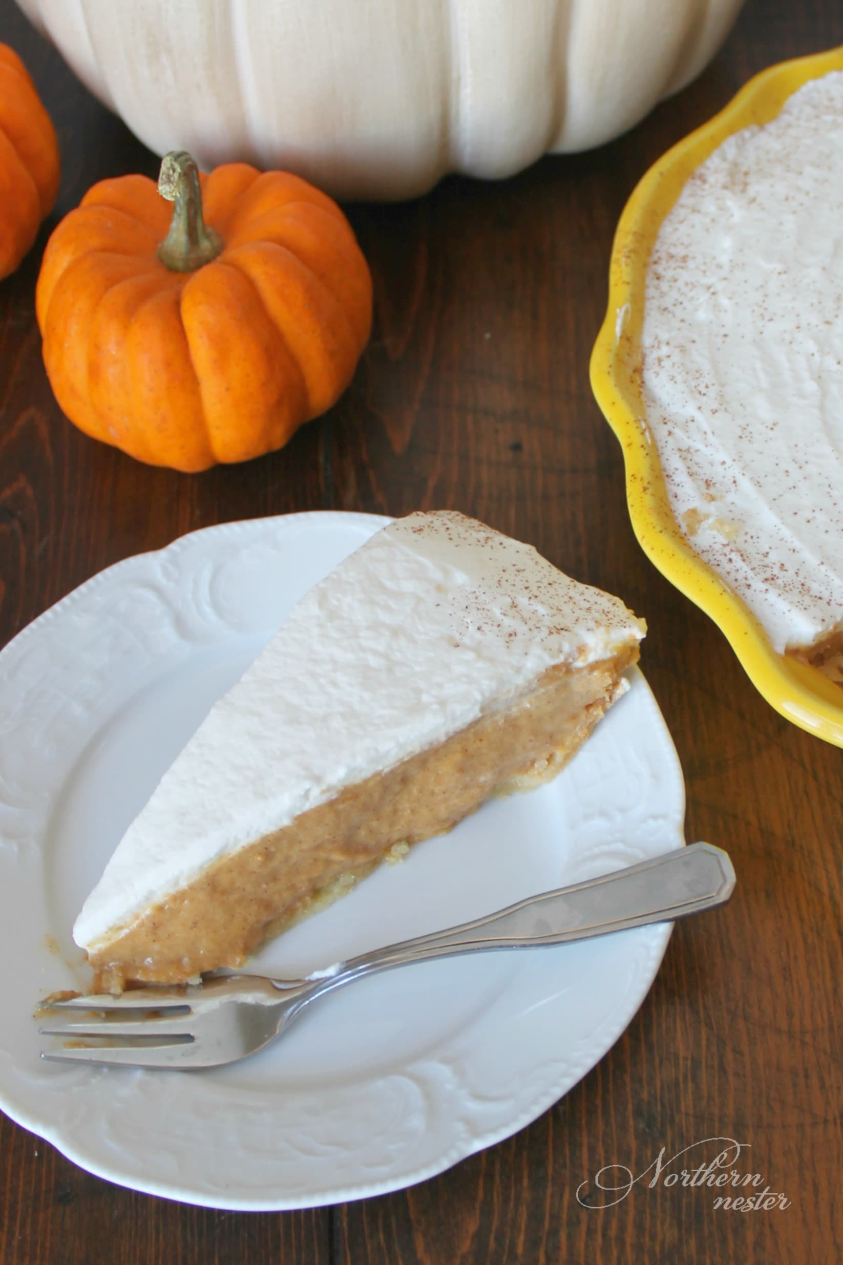 Pumpkin Chiffon Pie | THM: S - Northern Nester