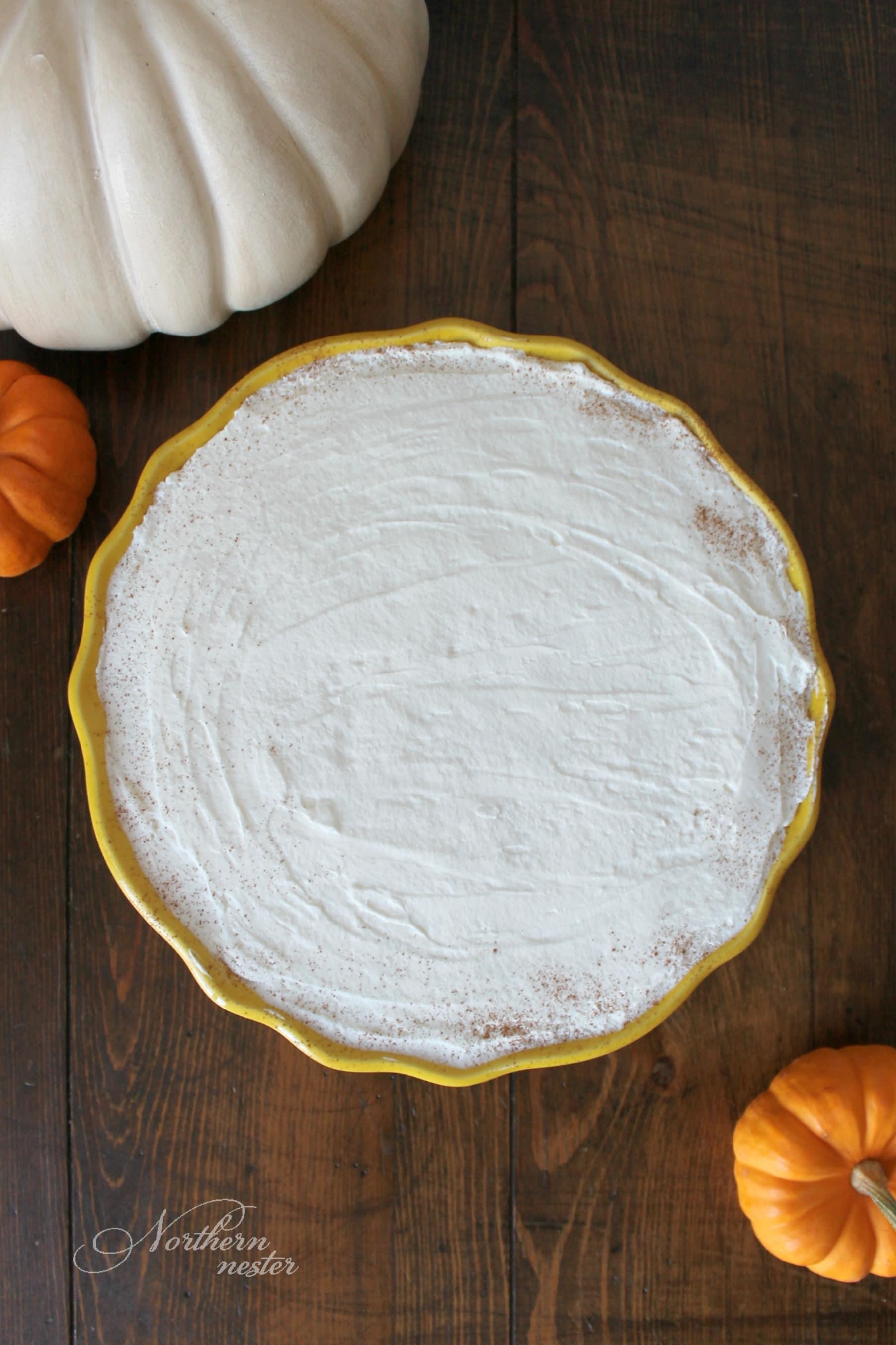 Pumpkin Chiffon Pie   THM: S - Northern Nester