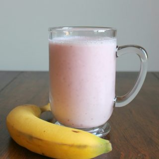 Strawberry Orange Banana Kefir Smoothie | THM: E