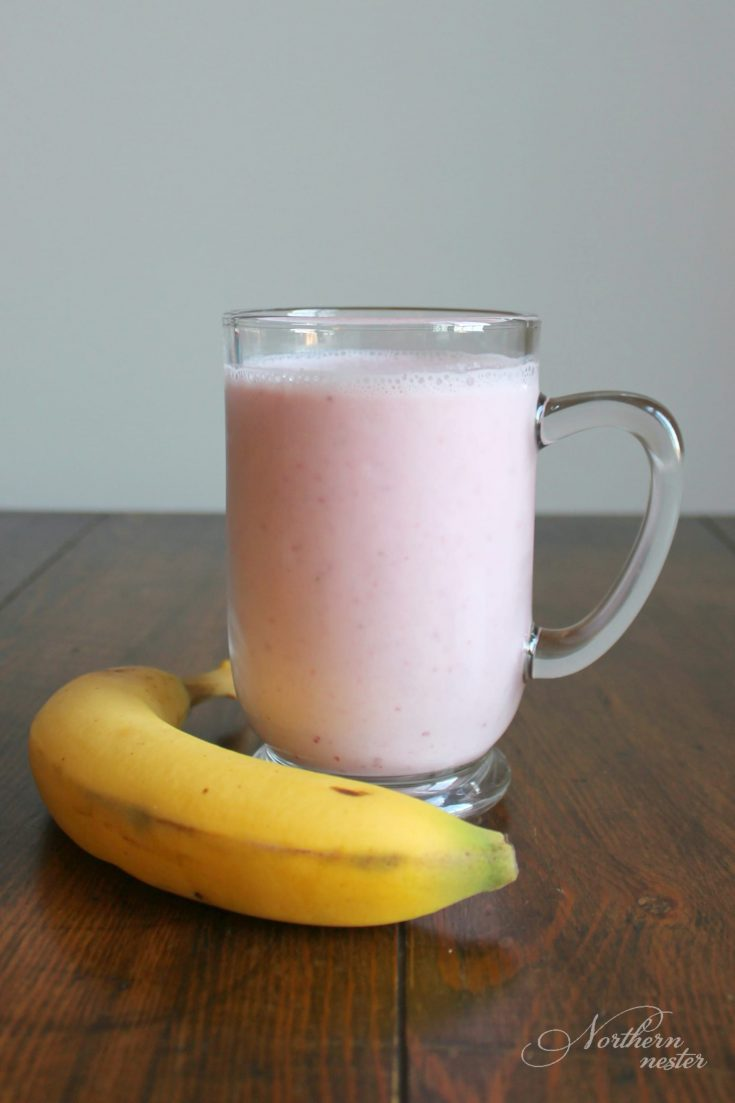 Strawberry Orange Banana Kefir Smoothie | THM: E