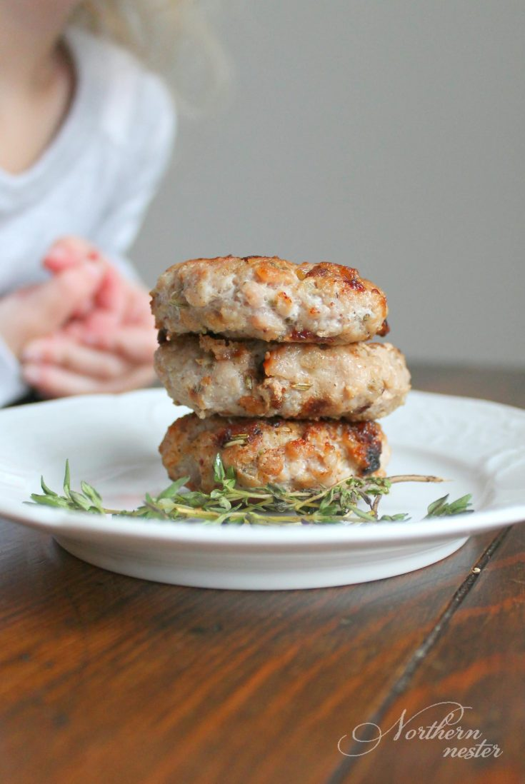 Low-Carb Sausage Patties | THM: S