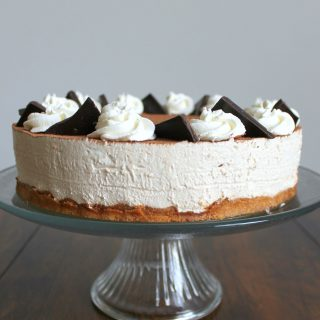 No-bake Cappuccino Cheesecake | THM: S