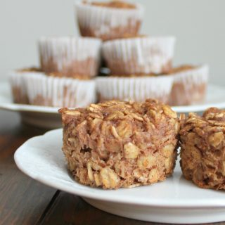 Apple Cinnamon Baked Oatmeal Cups | THM: E