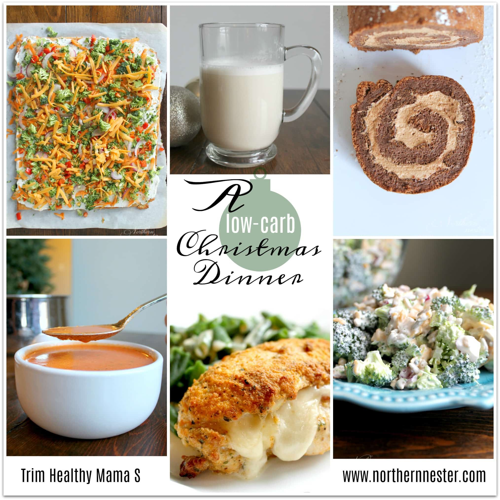 If not, I hope this low-carb, no-special-ingredient Trim Healthy Mama Christmas Dinner using some of our family's all-time favorite S recipes will help make ...