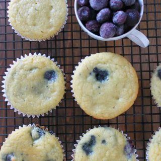 Blueberry Cupcakes | THM: S
