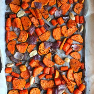 Roasted Root Veggie Medley | THM: E