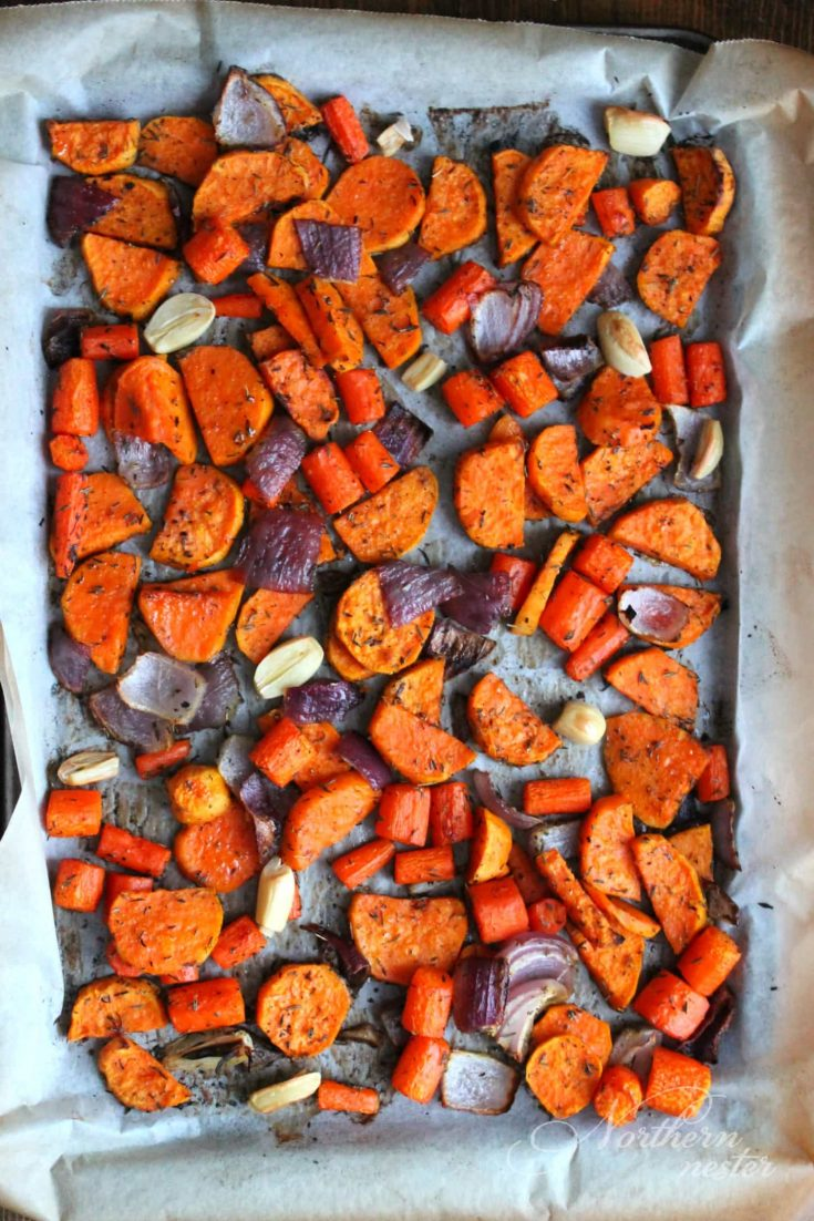 Roasted Root Veggies | THM: E