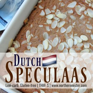 Low-carb Dutch Speculaas | THM: S