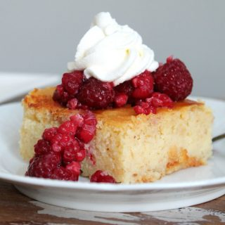 Lemon Yogurt Cake | THM: S